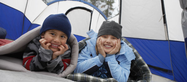 Froid au camping