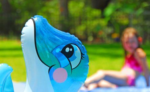 Avez-vous déjà un dauphin gonflable ?
