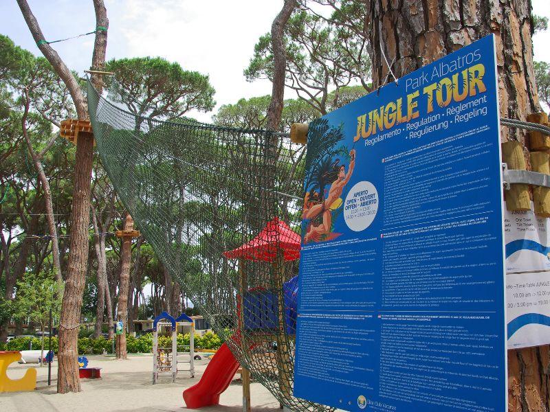 Jungle Tour au Camping Park Albatros.